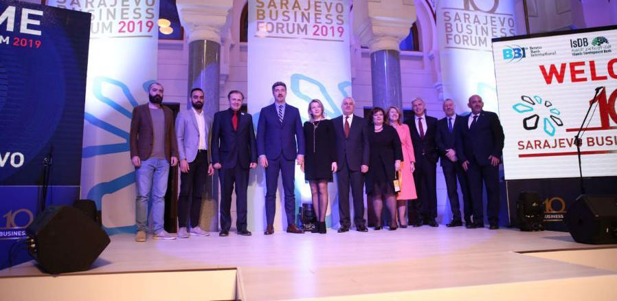 Sarajevo Business Forum 2019: U Vijećnici upriličen prijem za učesnike