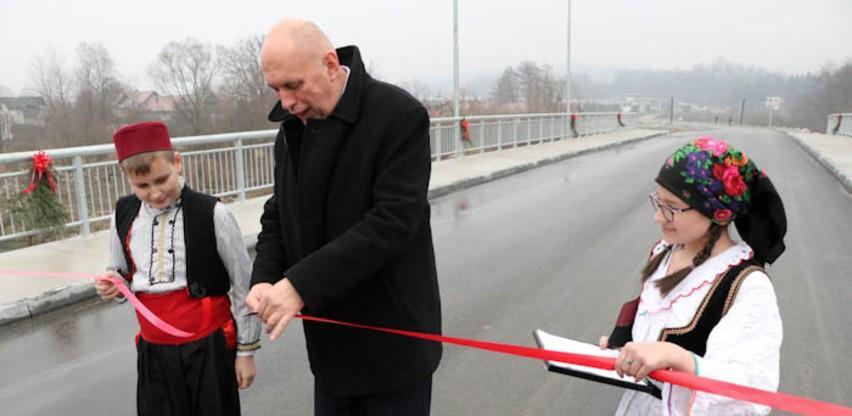 Otvoren most na rijeci Lašvi vrijedan 4 milijuna maraka