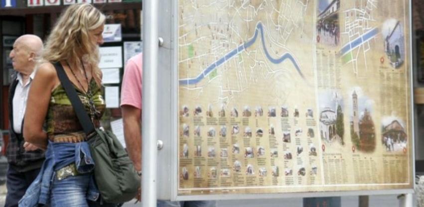 U junu u Bosni i Hercegovini 88 hiljada turista, 44,6 posto više nego u maju