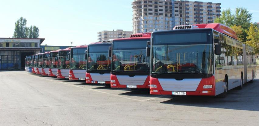 GRAS u saobraćaj pušta deset novih zglobnih autobusa