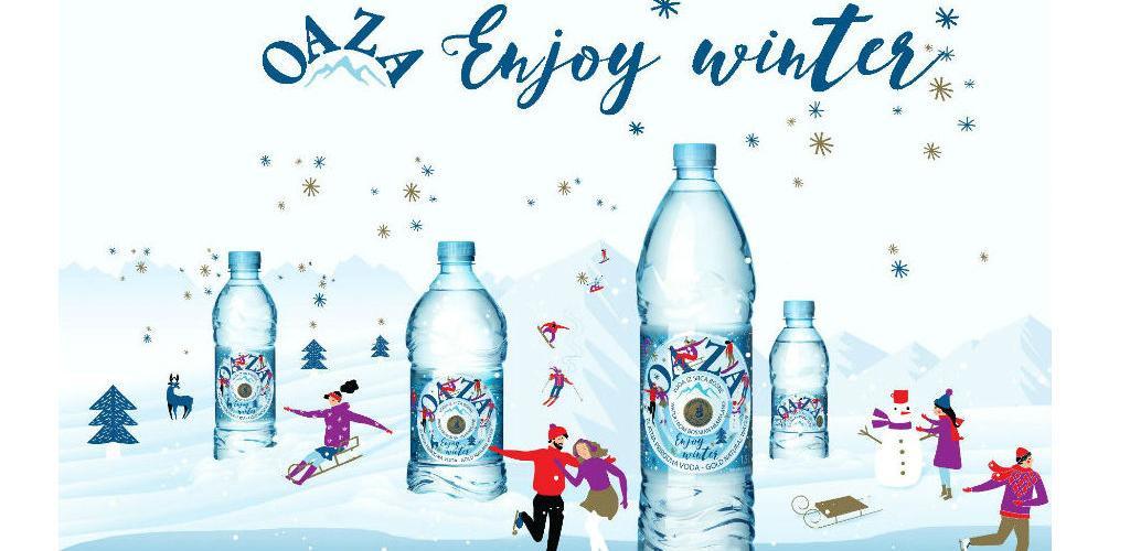 Bosanskohercegovačka voda Oaza u novom Winter edition izdanju