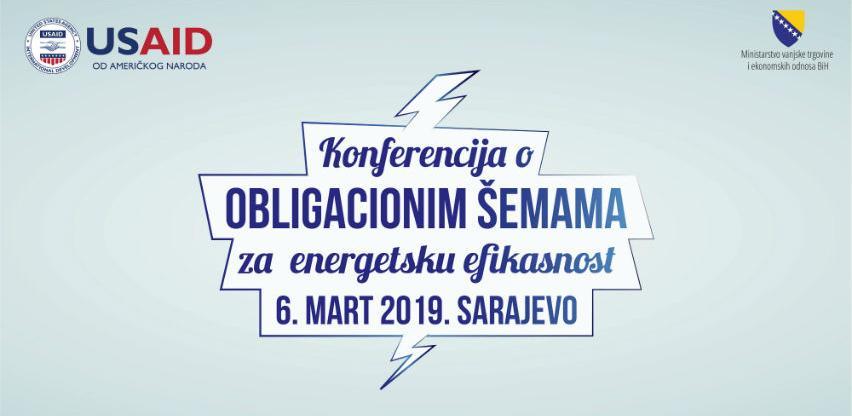 Konferencija o obligacionim šemama za energetsku efikasnost 6. marta u Sarajevu