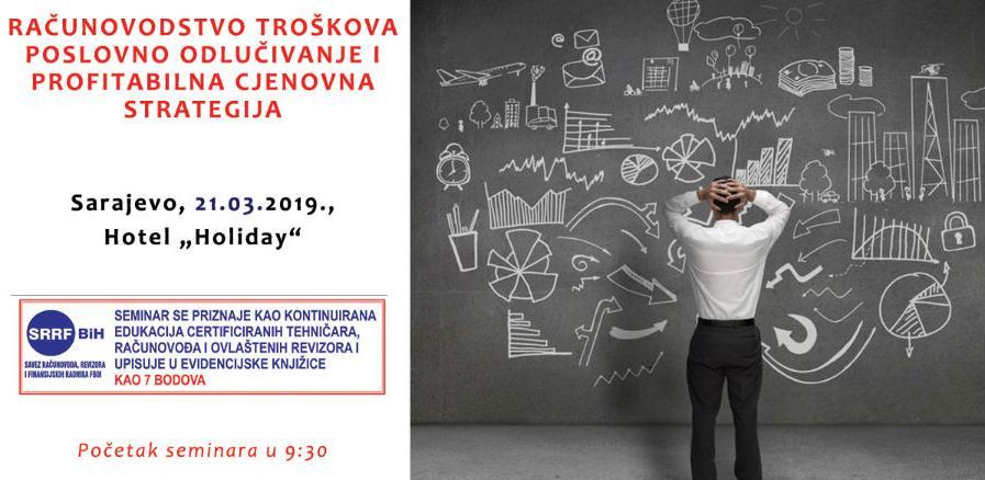 REC organizuje jednodnevni seminar: Računovodstvo troškova