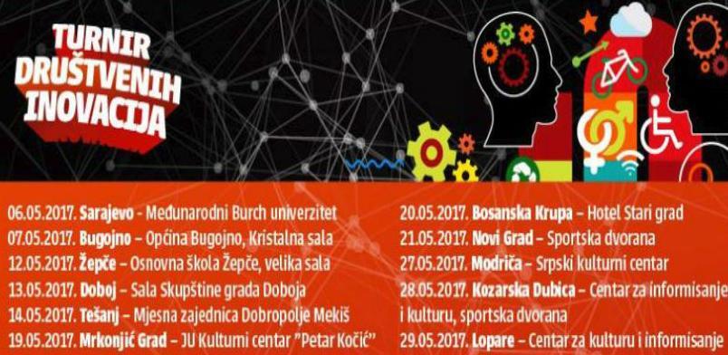Počinje turnir društvenih inovacija u organizaciji Fondacije Mozaik