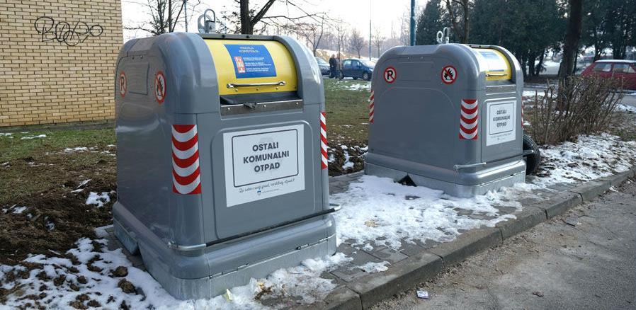 Ugradnjom spremnika za selektivno odlaganje otpada do čistijih naselja