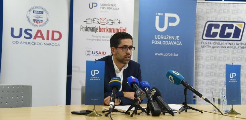 Poslodavci krajem februara dobijaju web platformu za anonimnu prijavu korupcije