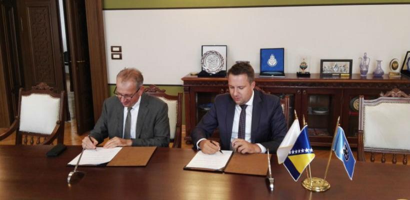 Potpisan sporazum za uređenje korita Miljacke