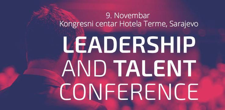 Najveća regionalna Leadership i Talent konferencija 9. novembra u Sarajevu