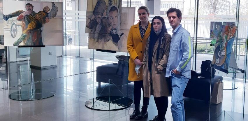 Nastavljena saradnja: Izložbe najboljih studenata ALU u Raiffeisen galeriji