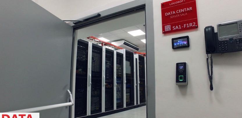 Savremeni Logosoft Data Centar svoja vrata otvara 16. marta, a mi vam donosimo nekoliko fotografija prije zvaničnog otvorenja.