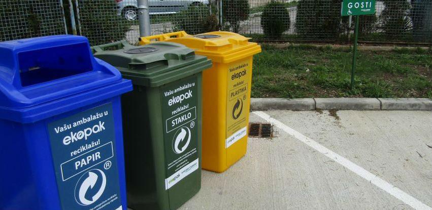 Ekopak u Tvornici Cementa Kakanj postavio eko-otoke za odlaganje otpada