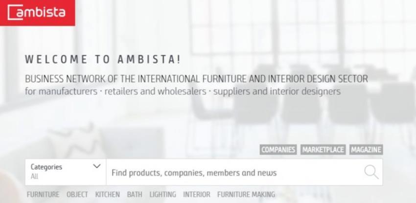 """Umjesto izlaganja u Kelnu, prezentacija proizvoda na mreži """"Ambista"""""""