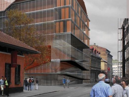 Izgradnja konstrukcije nove zgrade ASU u završnoj fazi