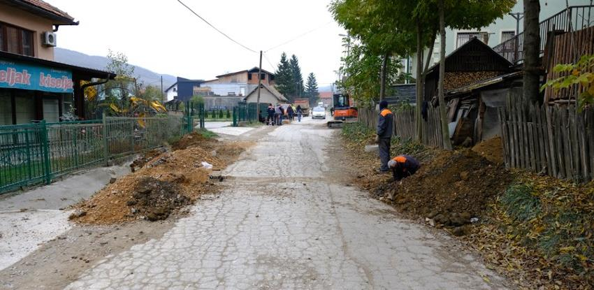 Kreće sanacija glavne naseljske saobraćajnice u Zabrđu