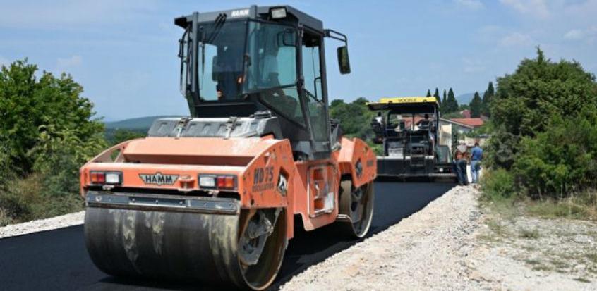 Putovi Grude završili radove na rekonstrukciji ceste u Vionici