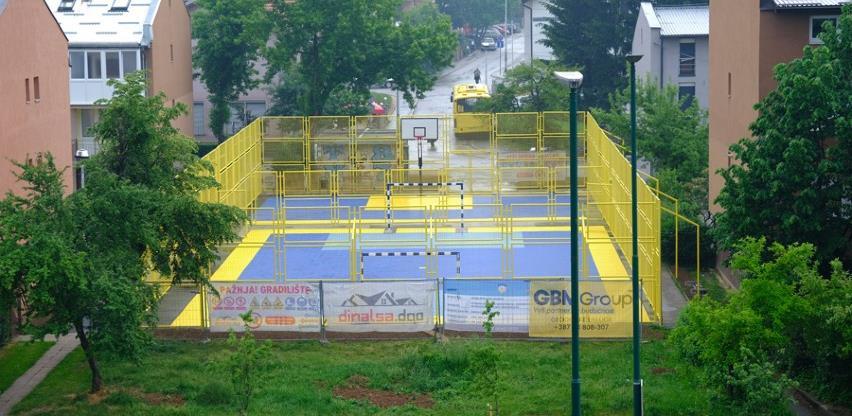 Obnovljeno sportsko igralište u ulici Šefika Dorića na Dobrinji