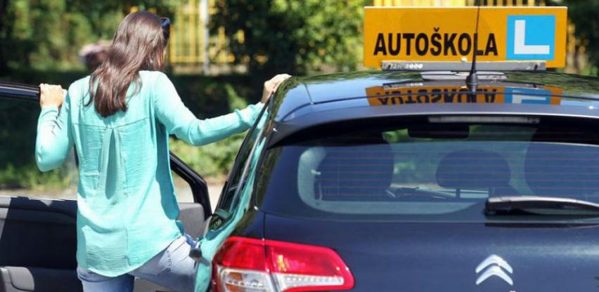 Cijena polaganja vozačkih ostaje ista - uvedene izmjene u praktičnoj nastavi