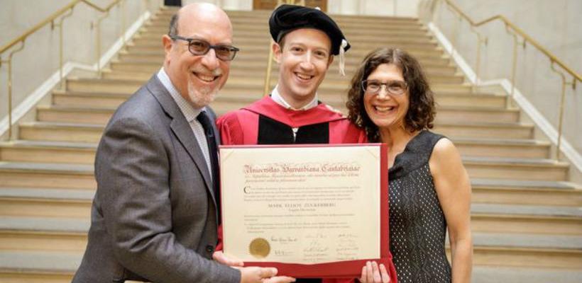 Zuckerberg konačno dobio diplomu na Harvardu