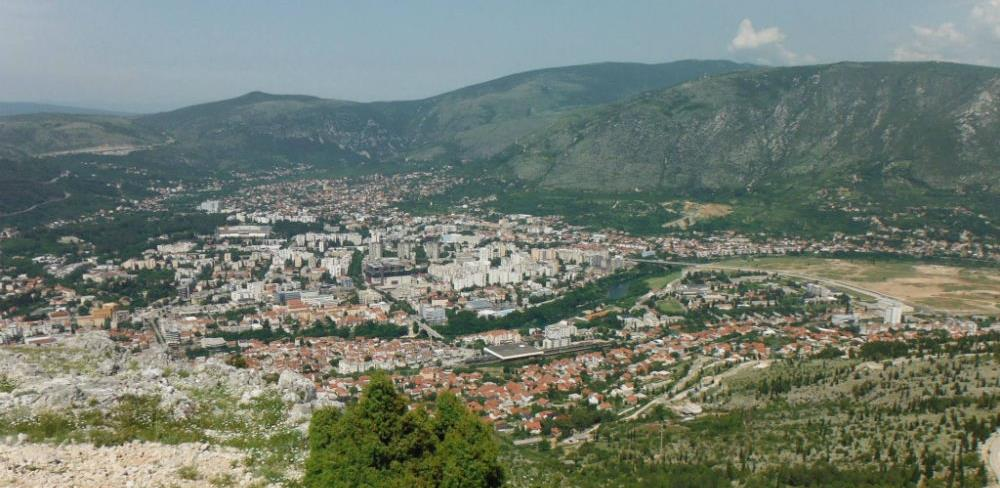 Uskoro staklena šetnica na Fortici iznad Mostara