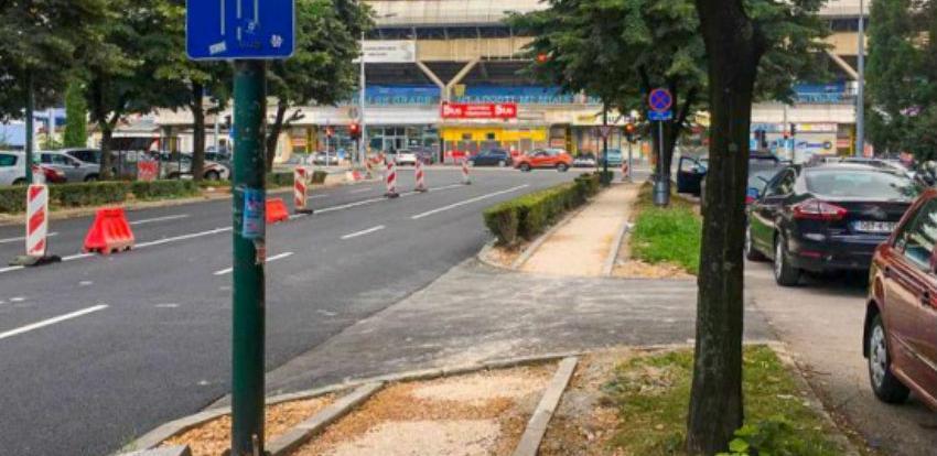 Radovi u ulici Topal Osman-paše u okviru Južne longitudinale