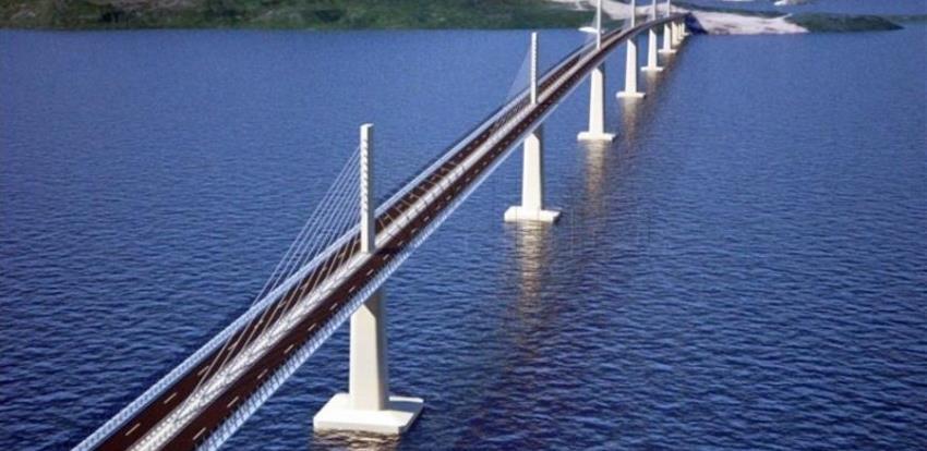 Postavljeno više od polovice Pelješkog mosta