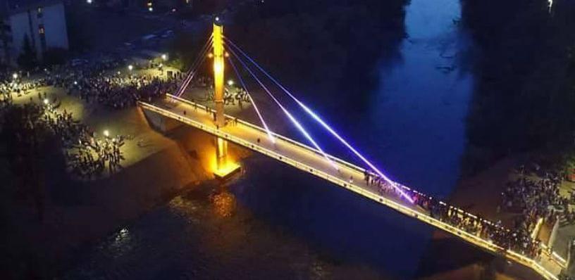 Otvoren pješački most Luke – Ozrakovići