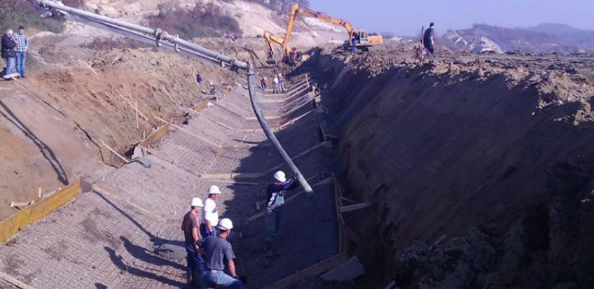 Rudar doo Tuzla: Izgradnja hidrotehničkih objekata