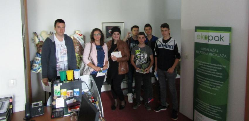 Učenici JU Srednja škola metalskih zanimanja u posjeti Ekopaku