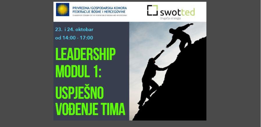 Trening 'Leadership Modul 1: Uspješno vođenje tima'