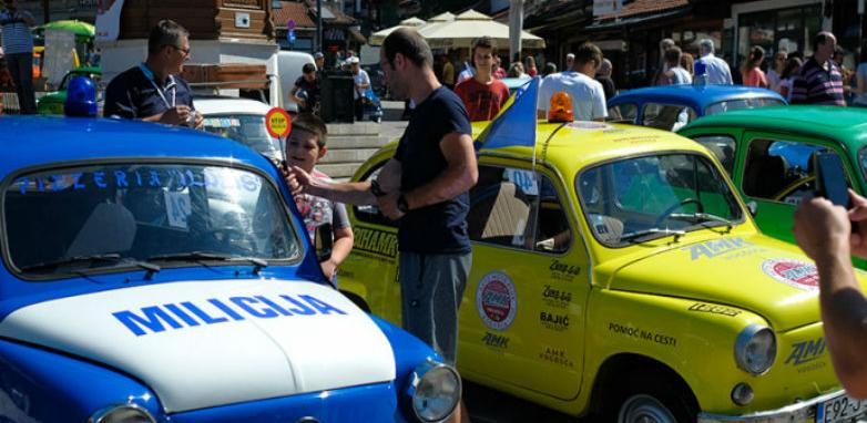 """Fiat-Fićo Fest: Popularni """"fićo"""" na Baščaršiji proslavlja 63. rođendan"""