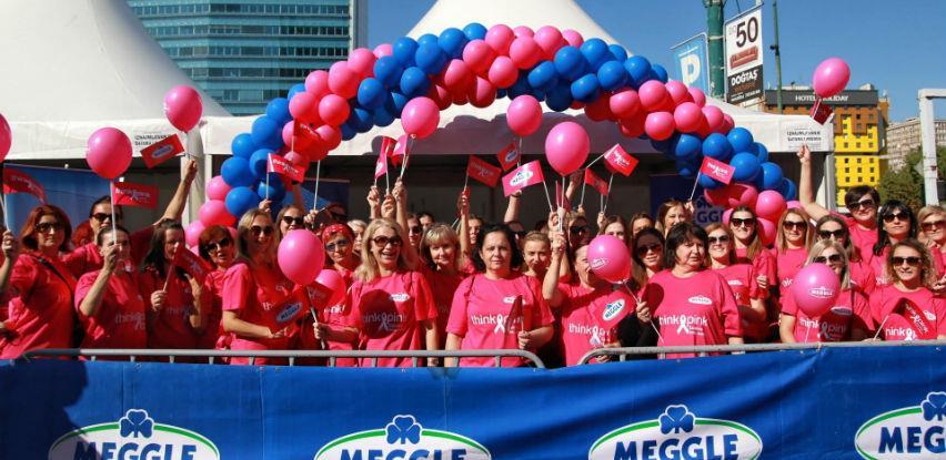 Uposlenice kompanije Meggle u prvim redovima Trke za život