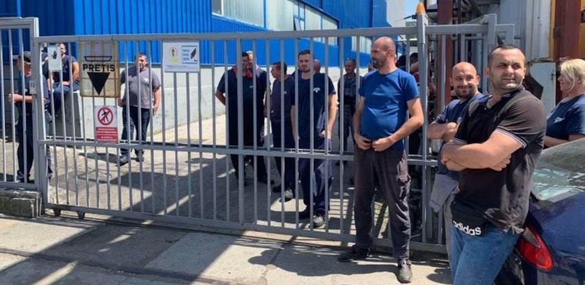Radnici pretisa prekinuli proteste
