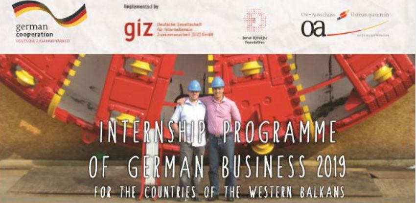 Stipendije za praksu u Njemačkoj - Program njemačke privrede za 2019. godinu