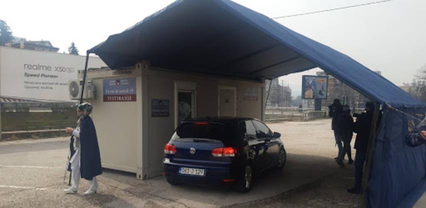 Sarajevo: Promijenjeno radno vrijeme drive-in punktova za testiranje