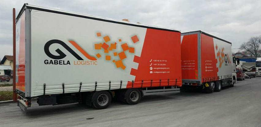 Gabela Logistic vrši prevoz robe u domaćem i međunarodnom saobraćaju