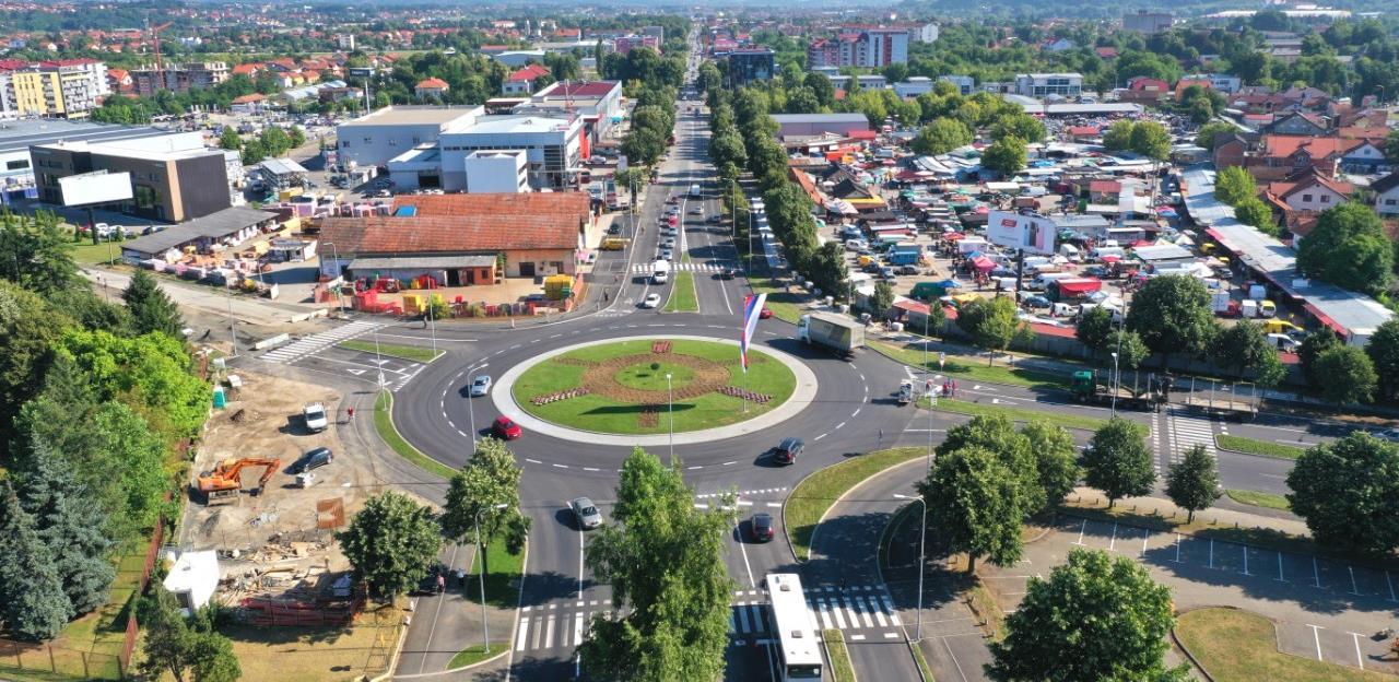 Banja Luka dobila novi kružni tok vrijedan 1,3 miliona KM