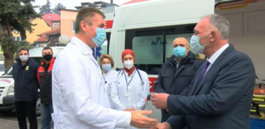 Dom zdravlja Vogošća dobio novo sanitetsko vozilo