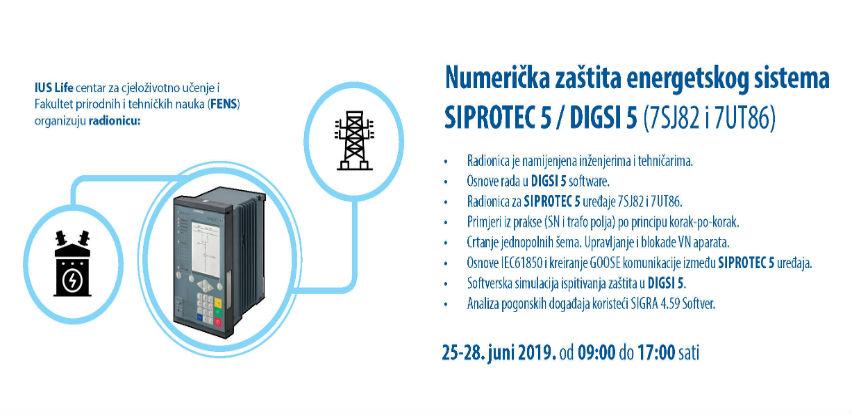 Numerička zaštita energetskog sistema SIPROTEC 5 / DIGSI 5