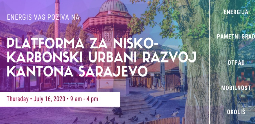 Platforma za nisko-karbonski urbani razvoj Kantona Sarajevo