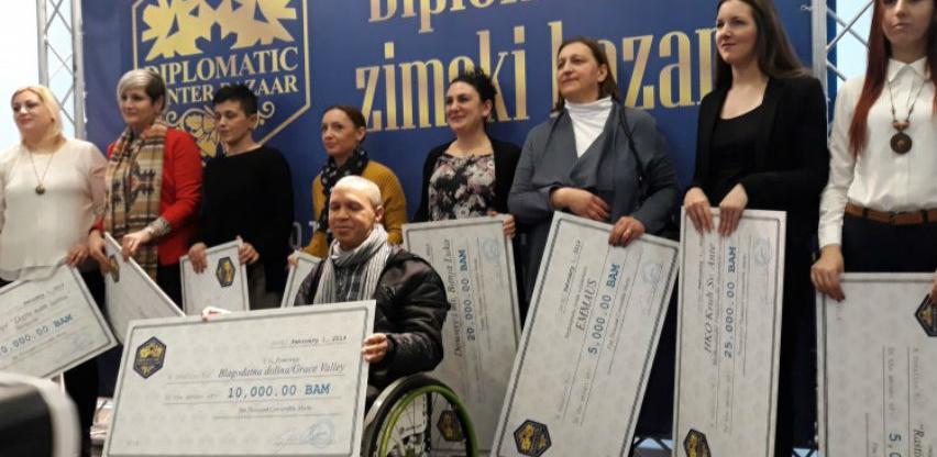 Diplomatski zimski bazar udrugama dodijelio 212.000 KM