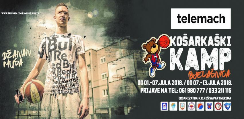 Telemach košarkaški kamp od 1. do 13. jula na Bjelašnici