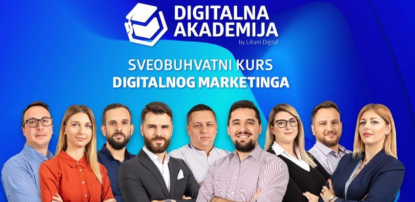 Lilium Academy: Kompletan kurs digitalnog marketinga