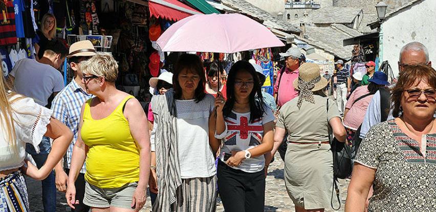 U osam mjeseci BiH posjetilo 11,5 posto više turista