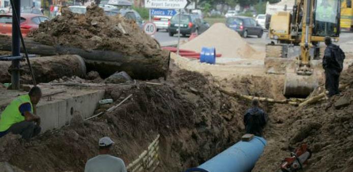 Stiže zajam od 25 miliona eura za rekonstrukciju sarajevskog vodovoda