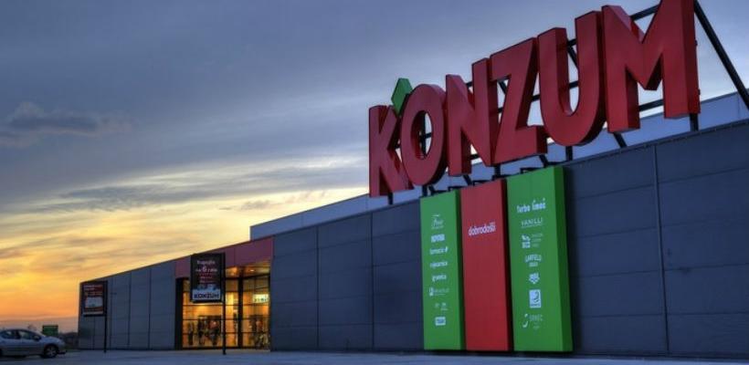 Hrvatska: Konzum zatvara 105 trgovina