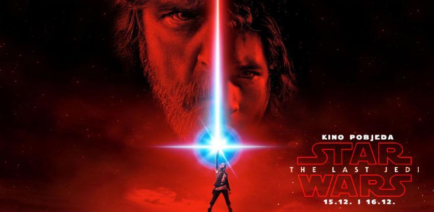 """U Cinema City-ju svjetska premijera """"Ratovi zvijezda: Posljednji jedi 3D"""""""