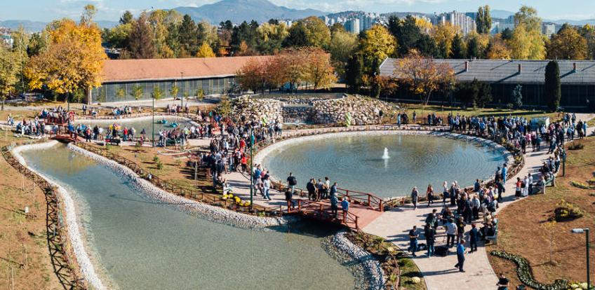 """U Centru """"Safet Zajko"""" otvorena botanička bašta sa vodenim sadržajima"""