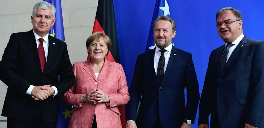U srijedu sastanak članova Predsjedništva BiH sa Angelom Merkel