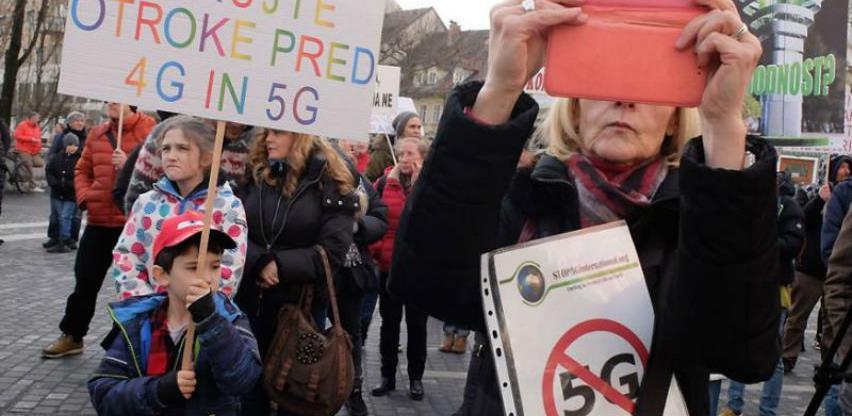 I Ljubljana se pridružila globalnom prosvjedu protiv 5G tehnologije