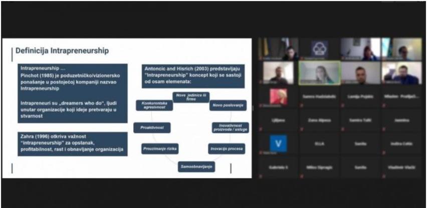 Održan webinar o Kickbox metodama u korporacijskim inovacijama